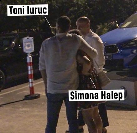 Simona Halep, îmbrățișări cu iubi într-o parcare din Mamaia