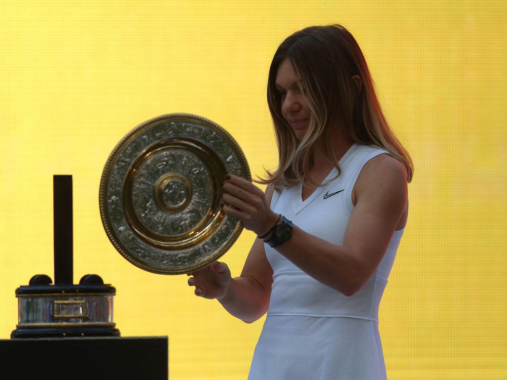 Simona Halep poartă pe mână un ceas de... 60.000 $!