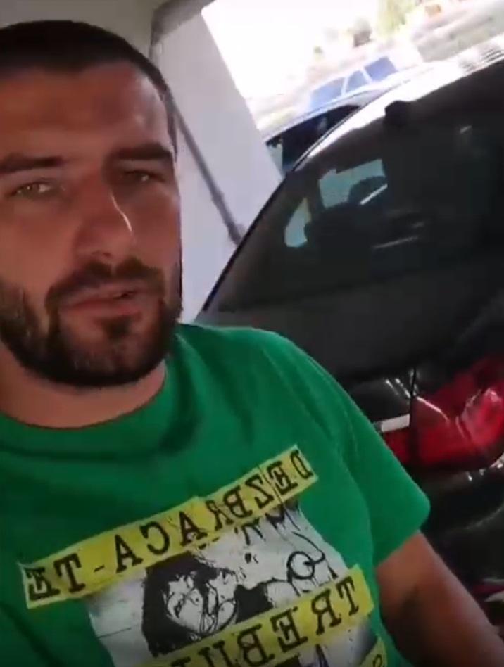 """Cătălin Cazacu a suferit un șoc! Bolidul lui a fost vandalizat: """"Mi-a tăiat cineva cauciucurile și mi-a..."""""""