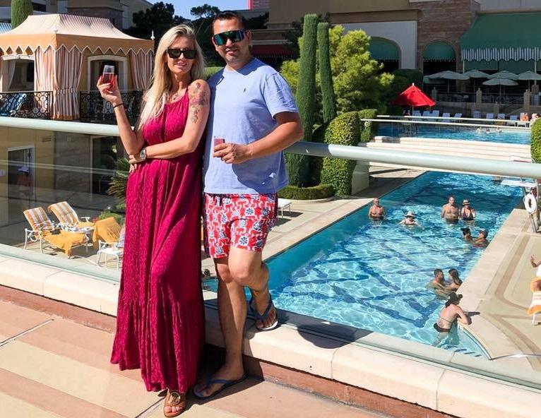 Andreea Bănică și Lucian Mitrea au doi copii împreună: Maria Sofia și Noah Andrei © Facebook